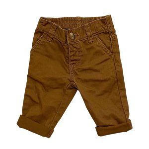 Old Navy Chestnut Brown Infant Chino's